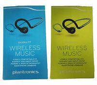 Plantronics BackBeat Fit Bluetooth Wireless Headphones Sweat-proof Blue Green