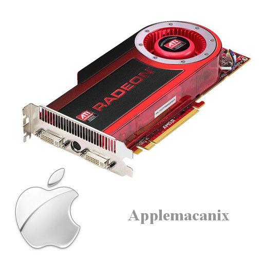 NEW Apple Mac Pro ATI Radeon HD4870 1GB DVI PCIe PCI-Express Video Graphics Card