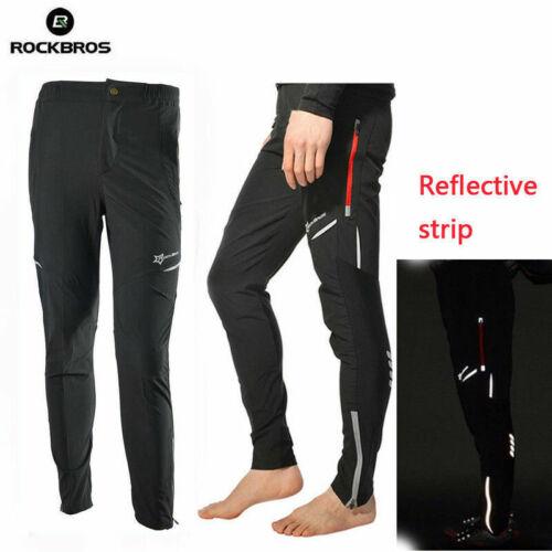 UK RockBros Cycling Pants Casual Pnats Bike Tights Sports Long Trousers