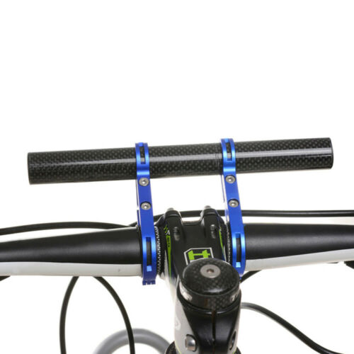2x Bicycle Accessories Extender Mount Bracket Small Handlebar For Road Bicycle