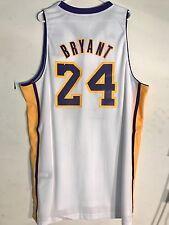 Adidas Swingman NBA Jersey Los Angeles Lakers Kobe Bryant White Alternate  sz 2X db69f02b4