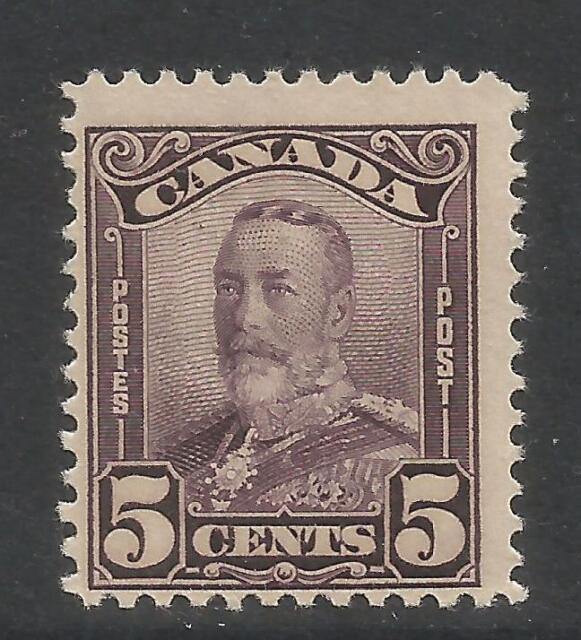 Canada 1928-29 King George V 5c deep violet (153) MH