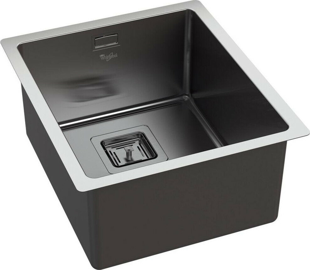 Lavello Cucina 1 Vasca Acciaio Inox WHIRLPOOL Sottotop 34 cm FSU 3440 IX