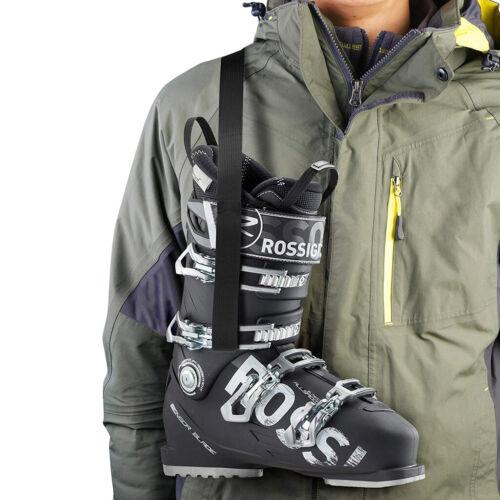 Ski Boot Carrier Strap Shoulder Sling Leash with Loop End for Men//Kids