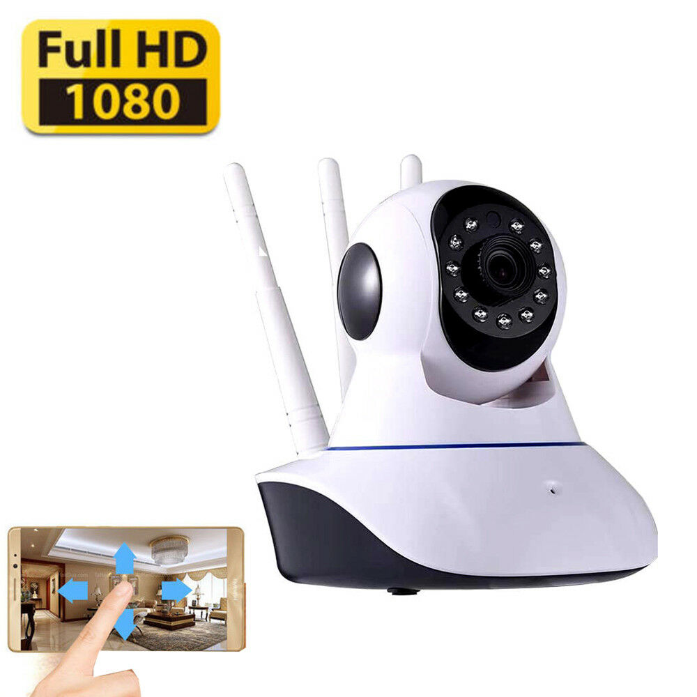Night Vision Wireless Wif 1080P IP Security Camera Lan