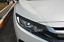 Carbon Fiber Front Headlight Eyelid Eyebrow Trim For Honda civic 2016 2017 2018
