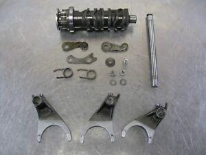 Kawasaki-Ninja-1989-ZX1000-ZX10-88-89-90-Transmission-Shift-Drum-Cam-Forks-amp-Shaft