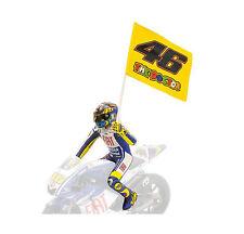 MINICHAMPS 1/12 2009 MOTOGP VALENTINO ROSSI FIGURE #46 FLAG MISANO 312090376