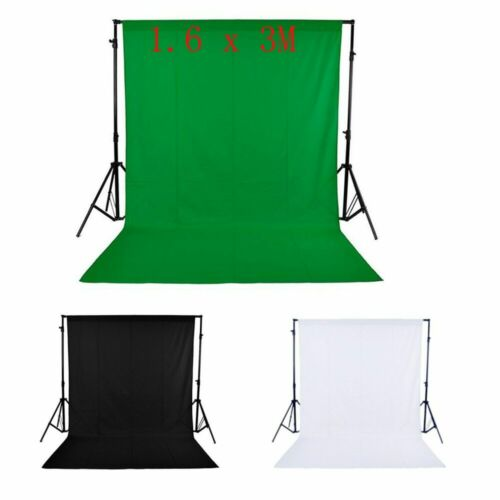 Backdrop White Green Black Studio Background Photography Photo Set Screen 5X10FT