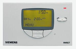 siemens rwb27 timeswitch bnib central heating hot water combi time rh ebay ie siemens rwb27 user guide siemens rwb27 user instructions