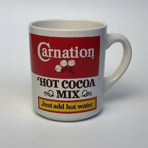Vintage Carnation Hot Cocoa Mix Mug Hot Chocolate Just Add Hot Water