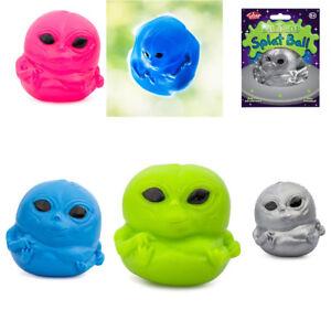BALL Quetschbarer Alien Antistress Quetschball Platschball Klatsch Alien Tobar