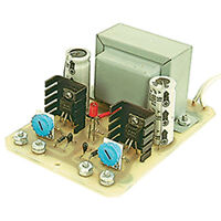 Dual-output Adjustable Linear Regulated Power Supply Kit