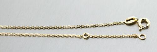 Massive Silberkette 925 vergoldet Halskette 42 und 45 cm Kette Damen Mädchen