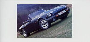 TVR-V8S-Prospekt-brochure-GB-1992-Autoprospekt-Broschuere-Auto-PKWs-brosjyre