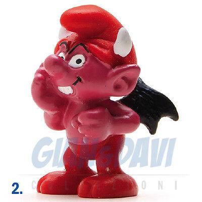 Puffo Puffi Smurf Smurfs Schtroumpf 2.0213 20213 Devil Smurf Puffo Diavolo 2a Rendere Le Cose Convenienti Per Le Persone