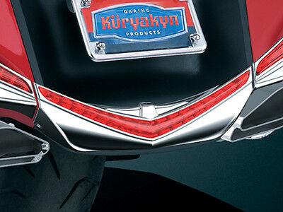 KURYAKYN CHROME LED REAR FENDER TIP 2012 GL1800 HONDA GOLDWING 3236 BRAKE ACCENT