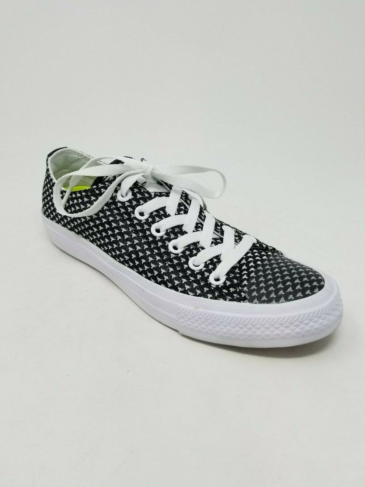 1200 Converse Women's Chuck Taylor All Star Ii Ox Ox Ox  shoes, Black White Size 6.5M 6f63c1