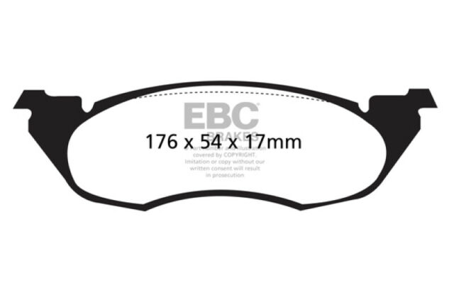 Ebc Yellowstuff Front Pads Dp4949r For Renault Safrane 2 5 Td 92 96 For Sale Online Ebay