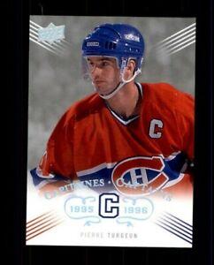 2008-09-Upper-Deck-Montreal-Canadiens-Centennial-225-Pierre-Turgeon-ref-97979