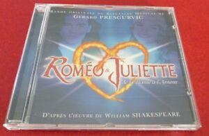 CD-Romeo-amp-Juliette-Bande-Originale-de-Gerard-Presgurvic-Baxter-Canada-Records