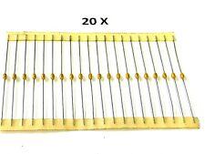 QTY 470pf 100V 10/% NPO AXIAL CERAMIC MLCC CAPACITORS C410C471K1G5CA KEMET 100