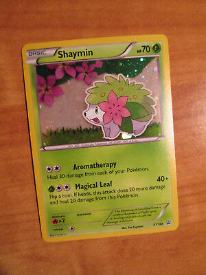 NM Pokemon SHAYMIN Card BLACK STAR PROMO Set XY188 Magearna Mythical Collection