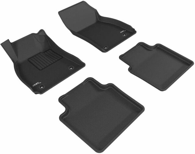 3D MAXpider Kagu Black Front & Rear Floor Liners Fits 2010-2016 Buick Lacrosse