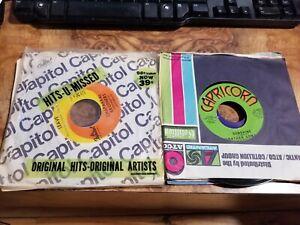 Lot-Of-10-4-5RPM-60s-70s-80s-Pop-Soul-Jukebox-ALL-GENRES-Random-Vinyl-Record