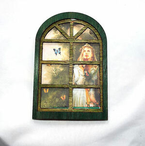 2-X-Fairy-Nymph-Pixie-Home-House-3D-ARCHED-Window-Kit-2-sizes-MDF-or-Ply-3Pc
