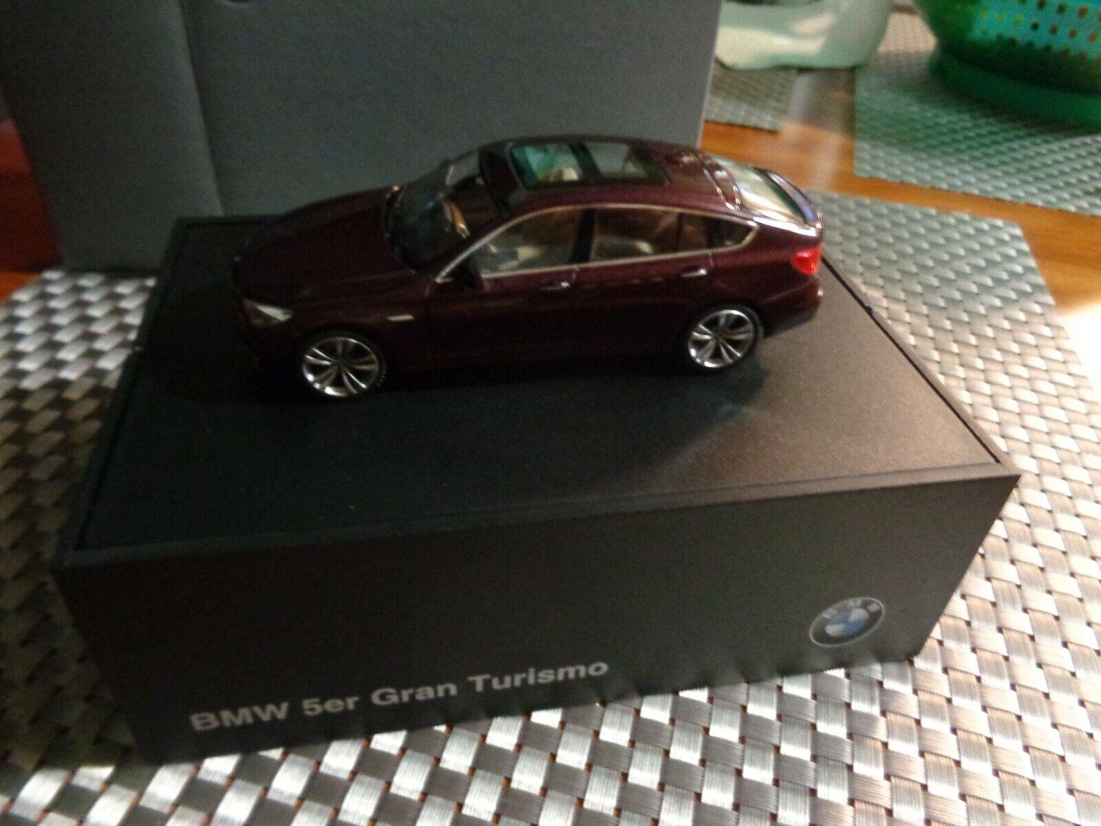NEUF RARE MINICHAMPS BMW Série 5 Gran Turismo 1 43 Dealer Promo Box. Schuco 5er
