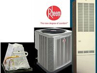 4 Ton R-410a 14seer Mobile Home Gas Heating System Condenser / Furnace /coil