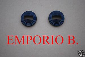 2 GHIERE CROMATE MANIGLIE APRIPORTA FIAT 500 F