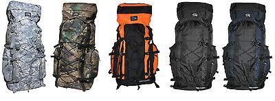 Nexpak HB002 70L 4300CI Internal Frame Hiking Hunting Camping Rucksack Backpack