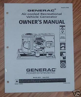 generac np 50g service manual