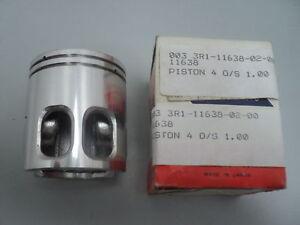 1980 YAMAHA YZ80 YZ 80 YZ80G 1ST OVERSIZED  PISTON NOS OEM P//N 3R1-11635-02-00