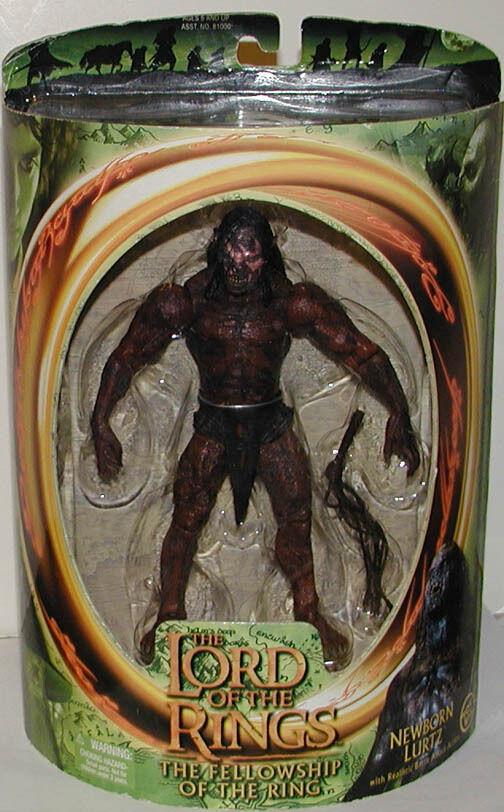 Toy Biz Lord Of The Rings Newborn Lurtz MIB LOTR FOTR