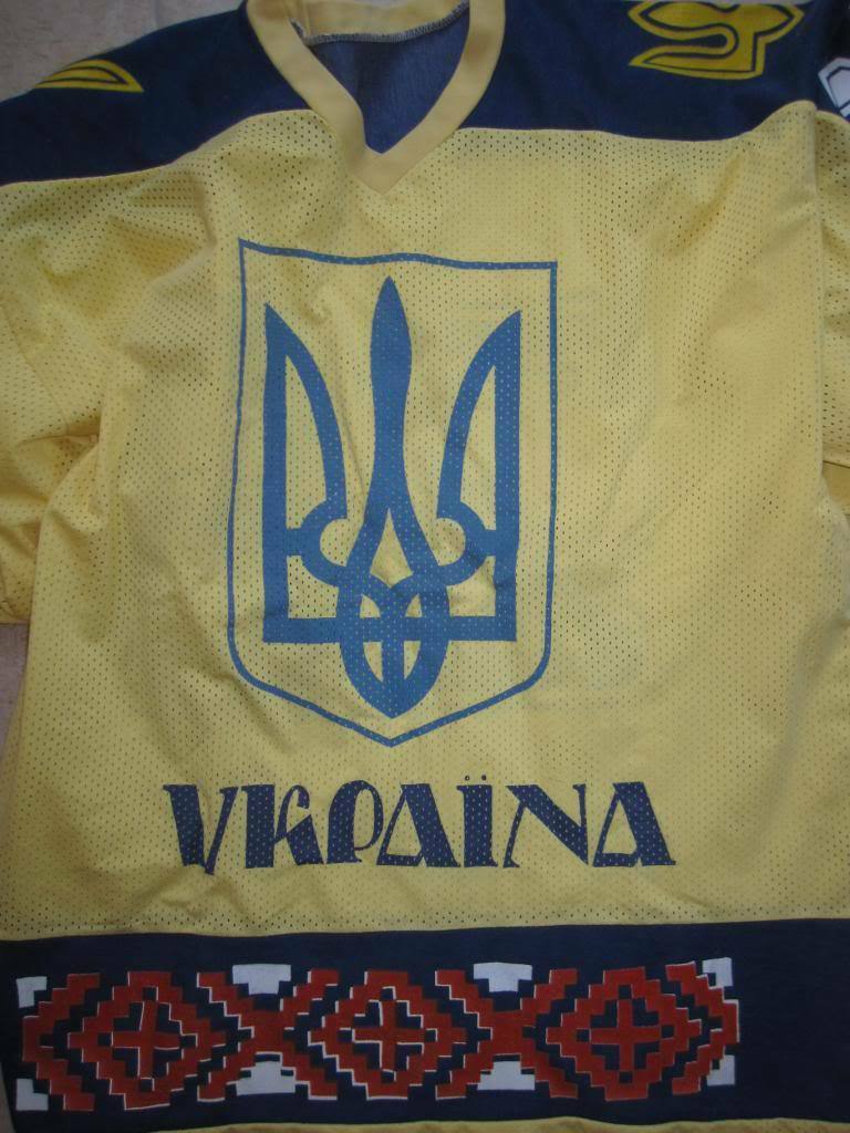 Maillot Maillot Maillot Hockey Glace Ukraine Vintage 80'S n° 28  України хокею ice team - XL 748bbd
