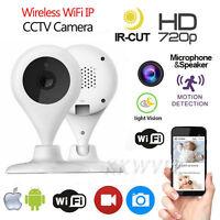 New Wireless WIFI IP Camera CCTV HD 720P Network Night Vision Security IR Webcam