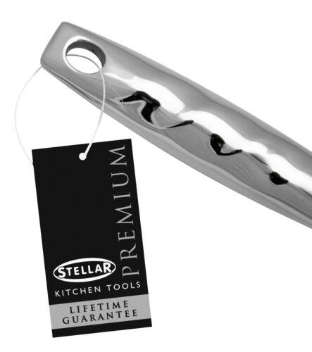Stellar Premium Acier Inoxydable /& Nylon Turner//poisson Slice Oeufs//Poêle Antiadhésif