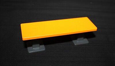 Playmobil école table orange et grise 4324 5923