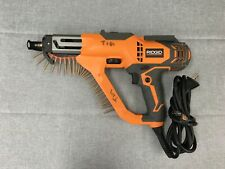 Ridgid R6791 3 In Drywall And Deck Collated Screwdriver Pre Owned Free Samph