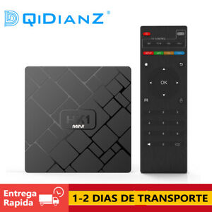 DQiDianZ HK1mini Android 9.0 2GB 16GB Cuatro núcle RK3329 Smart TV BOX TV CAJA