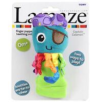 Lamaze Teething Mitt Captain Calamari Finger Puppet Newborn Baby Teether Toy New