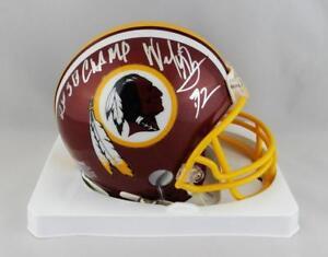size 40 2d56f 9a508 Details about Dexter Manley Autographed Redskins Mini Helmet w/ SB Champs-  Jersey Source Auth