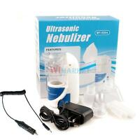 Ultrasonic Nebulizer Respirator Humidifier Nebuliser W/car Charger For Adult Kid