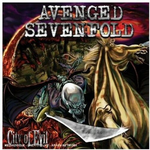 1 of 1 - Avenged Sevenfold - City of Evil [New CD] Clean