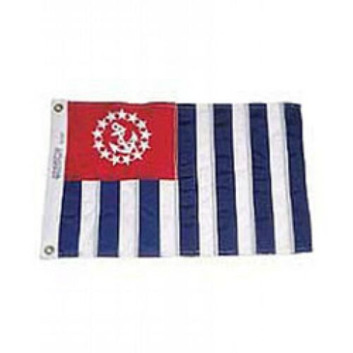"Annin US Power Squadron Flag 16/"" X 24/"" Nyl-Glo Embroidered"