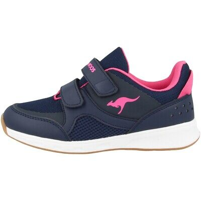 Kangaroos Courty V Schuhe Sneaker Kinderschuhe Turnschuhe Navy Pink 18408-4204