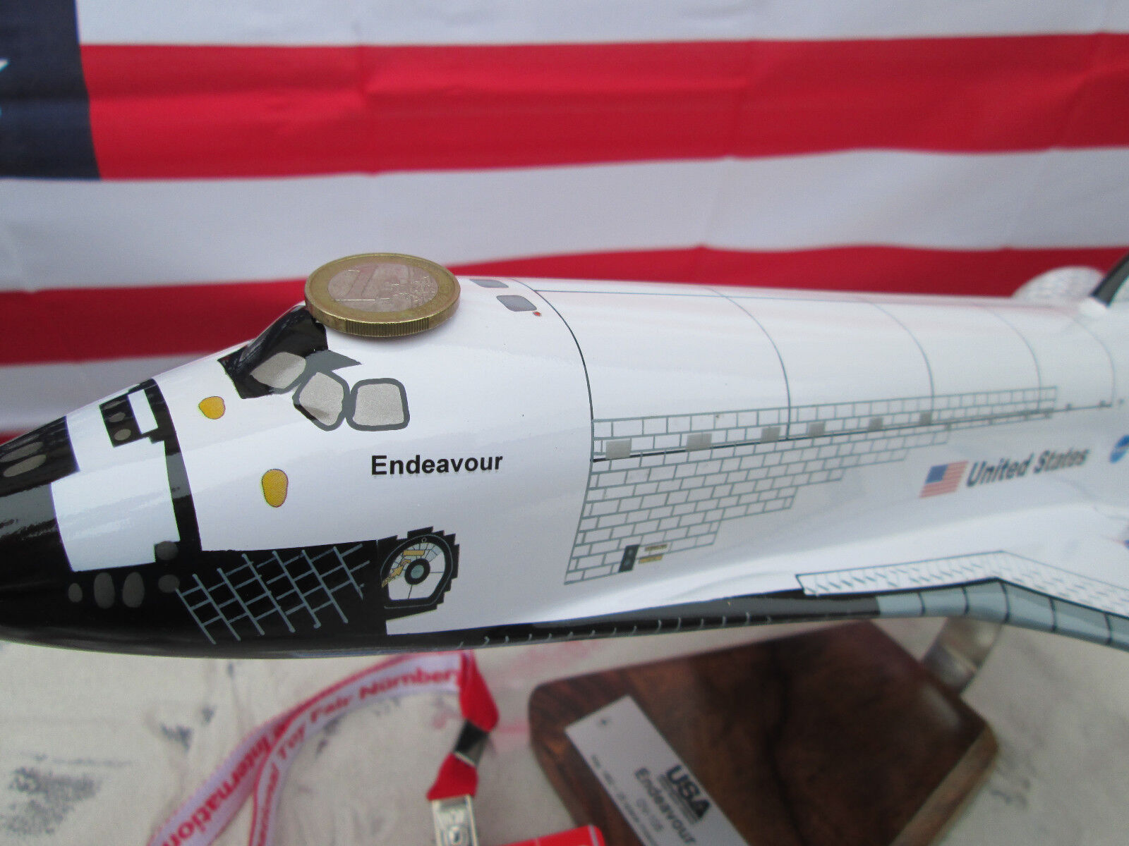 Noël est plein de joie Navette spatiale Endeavour Endeavour Endeavour NASA/ESA fusée XXL Rocket/ronds/AIRCRAFT/yakair   De Haute Qualité Et De Bas Frais Généraux  8e9d42